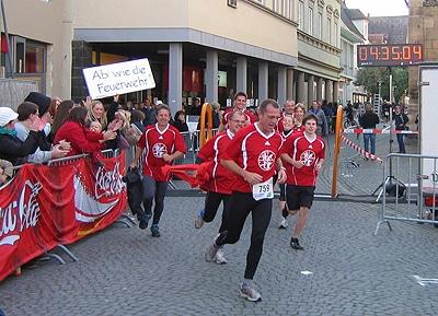 Die FF Wetzgau gehört zu den sportlichsten Feuerwehrleuten in Baden-Württemberg. Foto: Heino Schütte