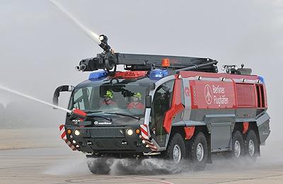 Rosenbauer gehört nach eigenen Angaben zum weltweit größten Feuerwehrfahrzeug-Hersteller. Foto: Michael Rüffer