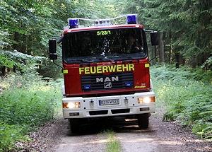 Einsatz im Wald: Können auch Feuerwehren die Einsatzorte künftig schneller finden? Foto: Timo Jann