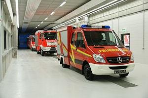 Auslieferungsstraße im neuen Werksteil bei Ziegler in Giengen. Foto: Hegemann
