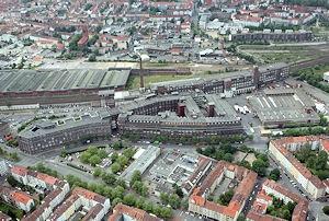 Continental-Werk in Hannover-Vahrenwald - in absehbarer Zeit sorgt hier die Berufsfeuerwehr Hannover anstelle einer Werkfeuerwehr für den Brandschutz. Foto: Continental