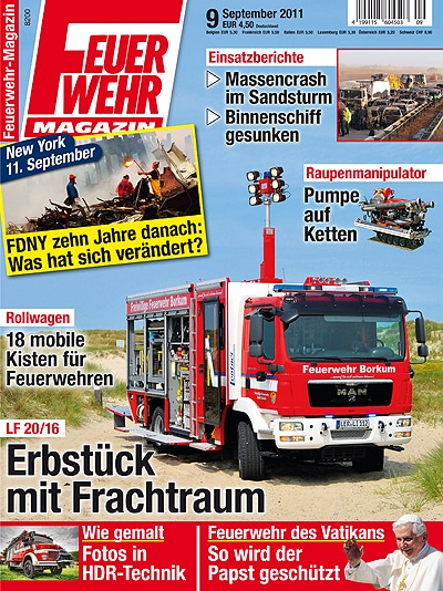 Feuerwehr-Magazin 9/2011