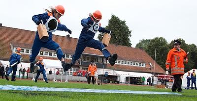 Die großen Landesverbände luden zum Jugendfeuerwehrtag ein. Fotos: Niedersächsische Jugendfeuerwehr