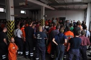 Die Polizei bekam bei der Suche nach Leichenteilen und Spuren Unterstützung durch die Feuerwehren der Samtgemeinde Apensen. (Foto: Polizei)