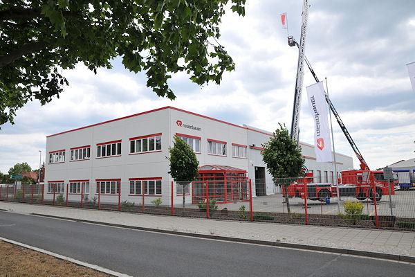 Rosenbauer Deutschland GmbH: Werk in Luckenwalde. Foto: Michael Rüffer
