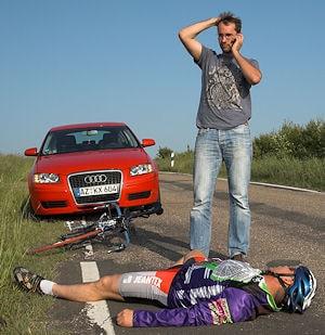 Ortung bei einem Unfall - nicht immer wissen Anrufer beim Notruf, wo genau sie sich befinden. Foto: AvD/J. Huber