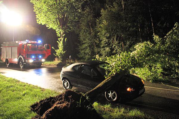 Archivfoto: Sturmeinsatz nach Unwetter im Landkreis Harburg (August 2010). Foto: Köhlbrandt / Feuerwehr