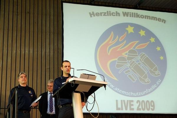 Am 12. November 2011 veranstaltet die Unfalldatenbank atemschutzunfaelle.eu einen Kongress in Bruchsal. (Foto: wiesbaden112)