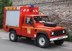 Gerätewagen-Gegenfeuer in Frankreich. Foto: Benkert