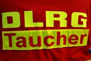DLRG-Taucher. Symbolfoto: Thomas Weege