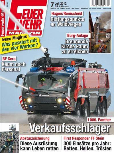 Feuerwehr-Magazin 7/2012