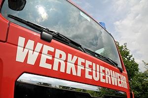 Werkfeuerwehr_Symbolfoto. Foto: Michael Rüffer