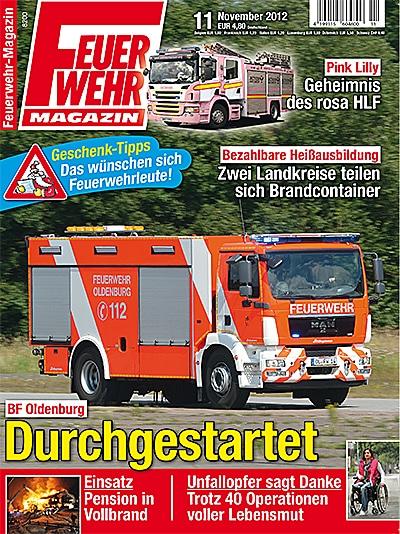 Produkt: Feuerwehr-Magazin Digital 11/2012