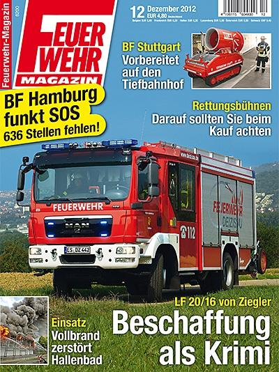 Produkt: Feuerwehr-Magazin Digital 12/2012