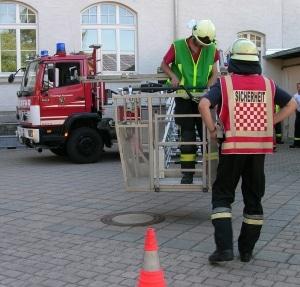 Fortbildung zum Sicherheitsassistenten. (Symbolfoto: drehleiter.info)