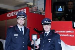 Die Feuerwehr Bütlingen trieb Spender für eine 8.000 Euro teure Wärmebildkamera auf. (Foto: Feuerwehr SG Elbmarsch)