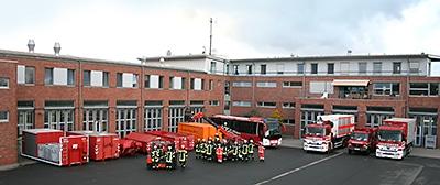Feuerwehr Bremen. Foto: Patzelt