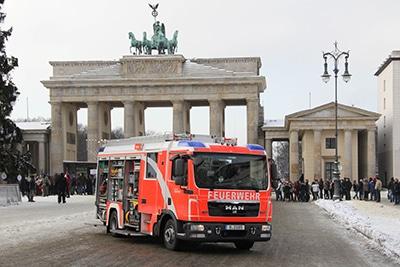 LHF Berlin (vor dem Brandenburger Tor). Foto: Timo Jann