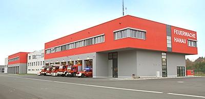 Feuerwache der Feuerwehr Hanau. Foto: Hegemann