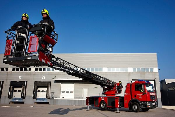 Der Rosenbauer-Konzern eröffnet eine neue Serviceniederlassung in Chambéry/Frankreich. Foto: Rosenbauer