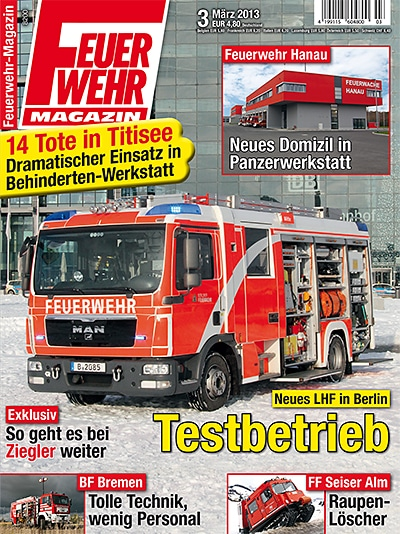 Feuerwehr-Magazin 3/2013