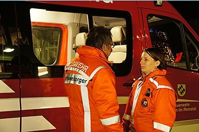 Notfallseelsorger: Neue Serie Menschenführung bei der Feuerwehr. Foto: Hub
