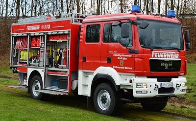 TLF 3000 von Adik. Foto: Feuerwehr