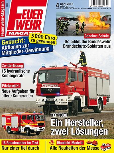 Feuerwehr-Magazin 4/2013