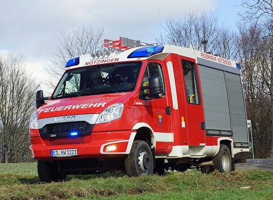 MLF der Feuerwehr Notzingen. Foto: Hegemann