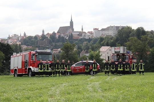 Feuerwehr Bautzen. Foto: Timo Jann