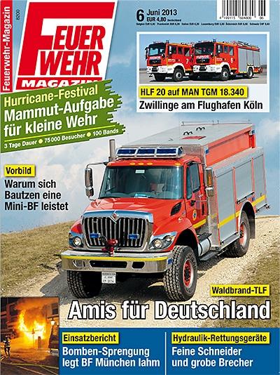 Feuerwehr-Magazin 6/2013