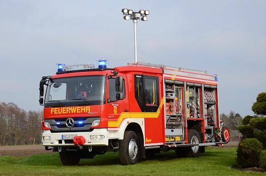 HLF 20 der Feuerwehr Dinklage. Symbolfoto: Preuschoff