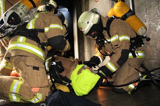 ANTS der Feuerwehr Berlin. Foto: Jann