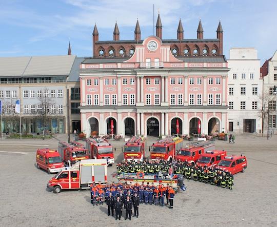 Freiwillige Feuerwehr Rostock. Foto: Patzelt