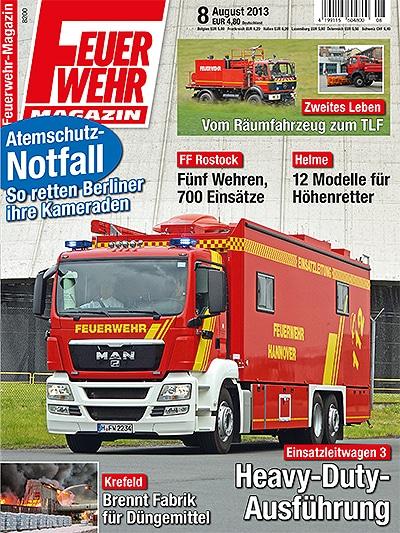 Feuerwehr-Magazin 8/2013
