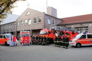 An dieser Feuer- und Rettungswache in Hamburg-Barmbek sollen nach bisherigen Überlegungen auch die Höhenretter stationiert werden. Das sorgt bei Mitgliedern der Spezialeinheit für Unmut. Foto: Timo Jann