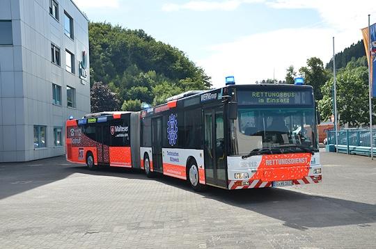 Rettungsbus Siegen. Foto: Büdenbender