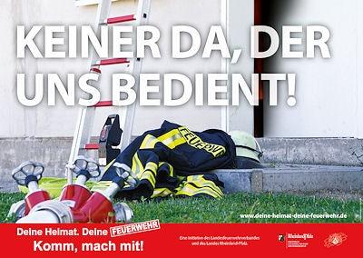 Plakat des LFV Rheinland-Pfalz