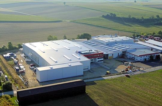 Das erweiterte Rosenbauer-Werk in Neidling. Foto: Rosenbauer