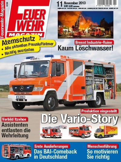 Feuerwehr-Magazin 11/2013