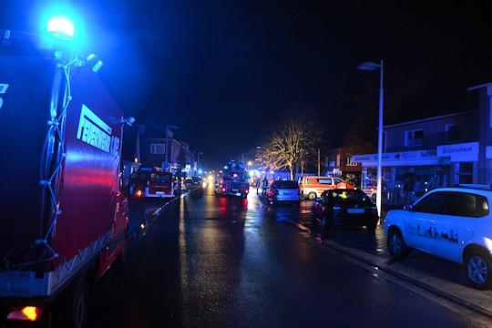 Brand in einem Seniorenheim in Hage. Foto: Oliver Prigge/Feuerwehr