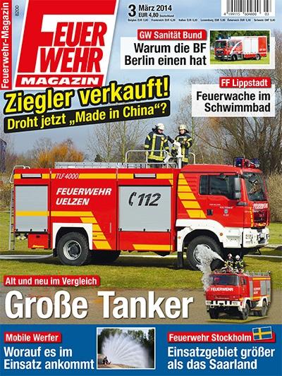 Feuerwehr-Magazin 3/2014