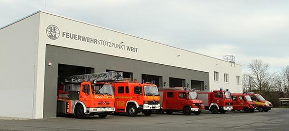 Feuerwache im Schwimmbad. Foto: Jörg Prochnow