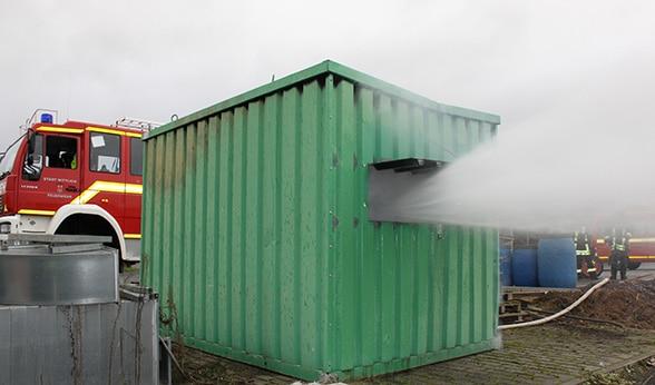Hydraulische Ventilation.