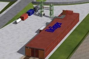 DieFeuerwehrakademie in Hamburg bekommt für 2,1 Millionen Euro eine moderne Brandsimulationsanlage. Grafik: Dräger