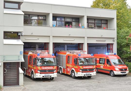 Freiwillige Feuerwehr München: Feuerwache Sendling. Foto: Michael Rüffer