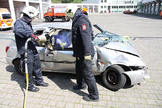Oslo Methode Feuerwehr: In Wuppertal wird das System erfolgreich eingesetzt. Foto: Fichte