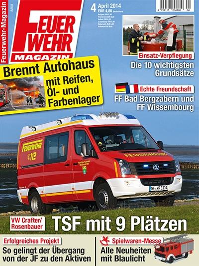 Feuerwehr-Magazin 4/2014