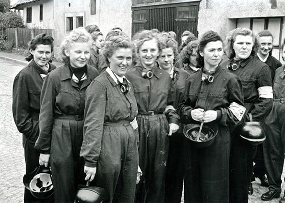 Frauen im Luftschutz. Foto: Feuerwehr Kronach