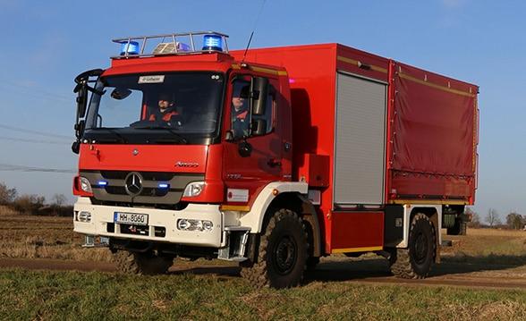 Der neue Schlauchwagen. Foto: Jann